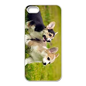 Dog's Happy Time Hight Quality Plastic Case for Iphone 5s