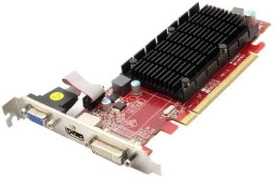 Black//Red VisionTek Radeon 5450 2GB DDR3 Dvi-I, HDMI, VGA Graphics Card-900861