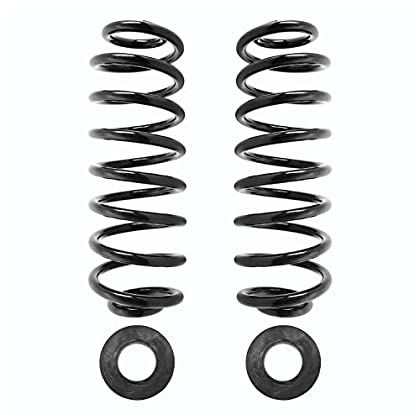 Image of Coil Springs Unity Automotive Elite 30-514800-HD Rear Heavy Duty Coil Replacing Air Spring Conversion Kit 2002-2006 GMC Envoy XL, 2 Pack