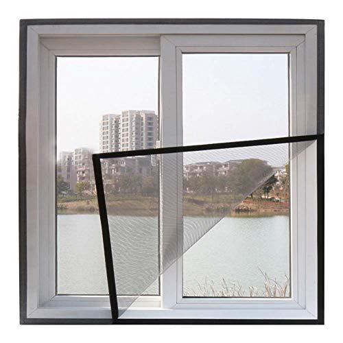 Mosquito Window Screen, Anti Mosquito Bug Insect Fly Window Screen Mesh Net Curtain, DIY Fiberglass Screen Replacement Mesh Fabric, Mosquito Net for Windows,Gray,130x165cm(51x65inch)