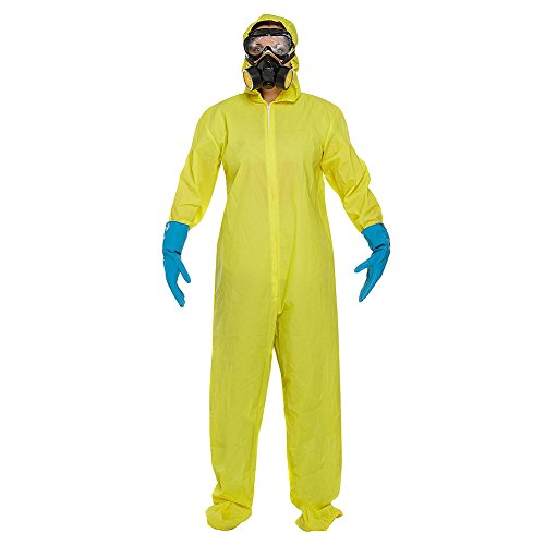 Hazmat Handle - Protective Suit Fancy Dress Costume (Yellow)