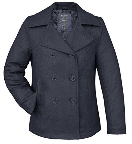 Shop Pea Coat Marino Marina Azul Bw Online Chaqueta Abrigo De Invierno SHBpnwPx