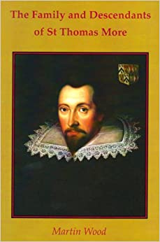 Book The Family and Descendants of St Thomas More