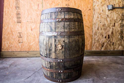 - Authentic Kentucky Bourbon/Whiskey Barrel