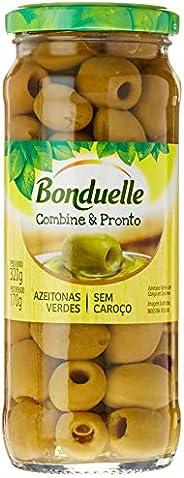 Azeitona Verde com Caroço Bonduelle, 320 g