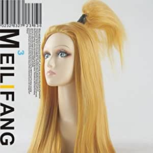NARUTO Deidara Blonde Long Costume Party Cosplay Wig
