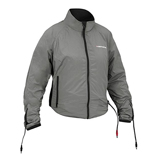 Firstgear 90-Watt Warm and Safe Women's Grey Heated Jacket Liner, XL
