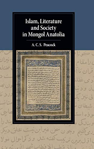 Islam, Literature and Society in Mongol Anatolia (Cambridge Studies in Islamic Civilization)
