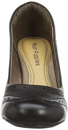 Hush Puppies  Kenna Anya,  Damen Geschlossene Pumps Schwarz (Black Leather)