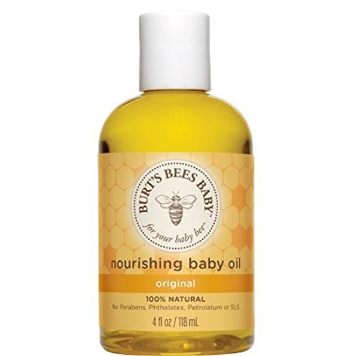 Burt's Bees Baby Bee Nourishing Baby Oil 4 oz (Pack Of 3) Burts Bees Baby Bee Apricot Oil