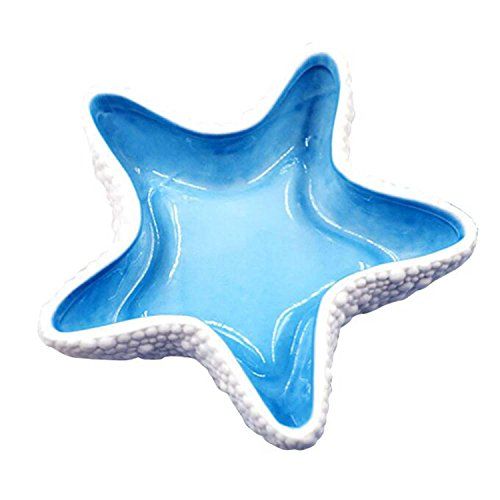 DU&HL Living room ornaments creative ceramic starfish ashtray European office home decorations TV cabinet crafts , medium