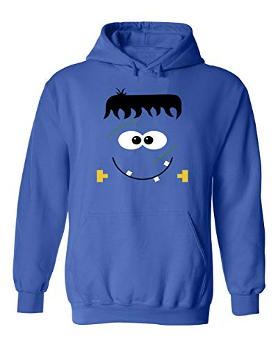 GOOD SHOPPERS ACTIVEWEAR Halloween Costumes Cute Frankenstein ScaryUnisex Pullover Hoodie Hooded -