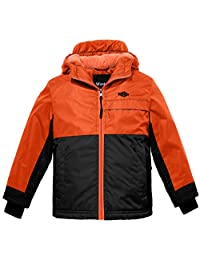 Wantdo Boy's Thick Mountain Jacket Hooded Outwear