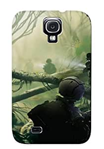 Catenaryoi Galaxy S4 Hybrid Tpu Case Cover Silicon Bumper Anarchy Online - Lost Eden