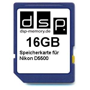 DSP Memory Z de 4051557436350 16 GB tarjeta de memoria para Nikon D5500