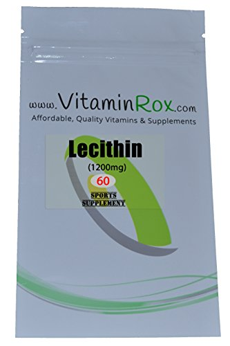 Lecithin 1200mg Resealable Supplement VitaminRox