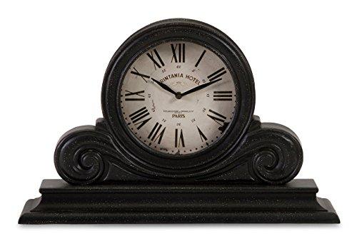 IMAX 16130 Mantle Clock Black product image