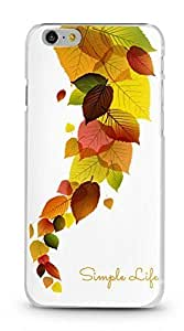 For SamSung Galaxy S5 Case Cover Case 5.5 AFYCOLOR Hard PC Material with 3D UV Embossing Craft Print - Simply Life Series of Autumn Leaves