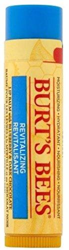 Burt s Bees Revitalizing Lip Balm with Blueberry Dark Chocolate, 0.15 oz Pack of 11
