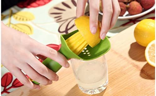Mini Niedliches Kunststoff Gadgets Manuelle Entsafter Handpresse Fruit Orange Zitruspresse Zitronenpresse Küche Tools by advancedshop