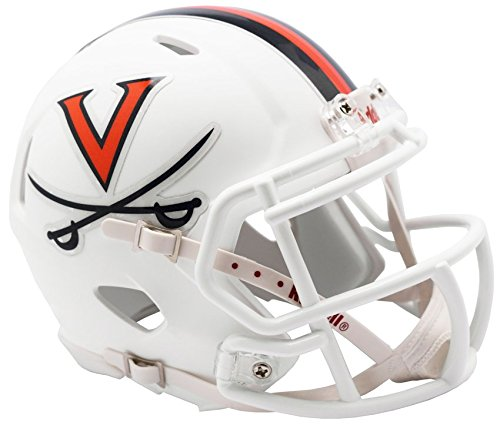 Riddell VIRGINIA CAVALIERS NCAA Revolution SPEED Mini Football Helmet UVA by Riddell