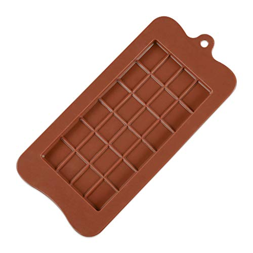 (Sinma Silicone Flower Soap Mold DIY Mold Handmade Easter Chocolate Biscuit Cake Muffine Silicone Mold (Brown +1 PCS))