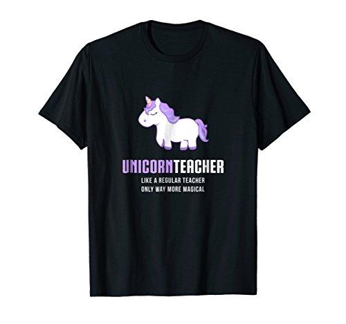 Unicorn Teacher Shirt, Funny Cute Magical Gift