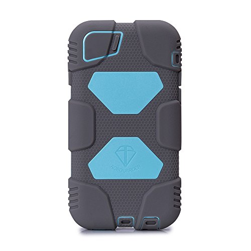 iPhone 6 Plus Case,ACEGUARDER (Slim Military Heavy Duty)Shockproof Anti-Rain Drop Resistance Silicone with detachable belt clip & screen protector for Apple iPhone 6 Plus 5.5