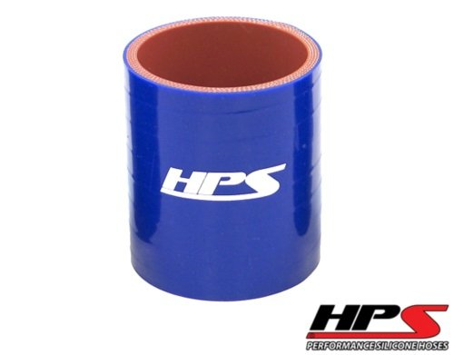 HPS HTSC-450-L4-BLUE Silicone High Temperature 4-ply Reinforced Straight Coupler Hose, 45 PSI Maximum Pressure, 4' Length, 4-1/2' ID, Blue 4 Length 4-1/2 ID HPS Silicone Hoses