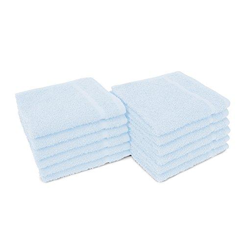 """12"""" x 12"""" Allure 12  Salon Face Towels - 12 Pack"""