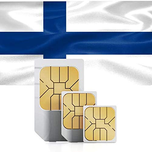 Northern Europe High-Speed Mobile Data SIM Card 2GB Valid for 30 Days (Denmark, Finland, Iceland, Norway, Sweden)