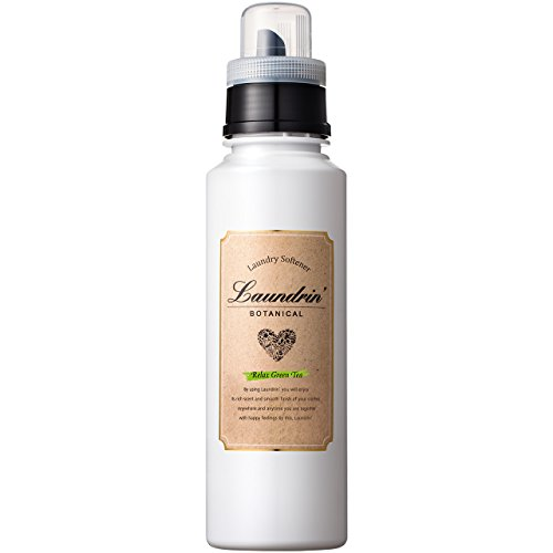 란도린 일본인기 섬유유연제 (Laundrin) 《보타니카루》 유연제 릴랙스 그린티의 향기 500ml
