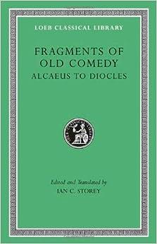 Como Descargar Desde Utorrent Fragments Of Old Comedy: 1 Ebook PDF