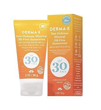 derma e antioxidante natural protector solar SPF 30 loción facial ...
