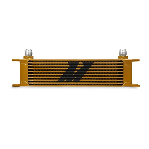 Mishimoto MMOC-10G Oil Cooler (Universal 10 Row) - Fluidyne Oil Coolers
