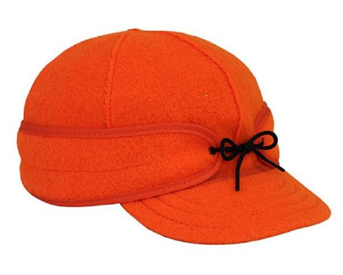 Blaze Mens (Stormy Kromer Men's Orginial Cap, Blaze Orange, 7 5/8)