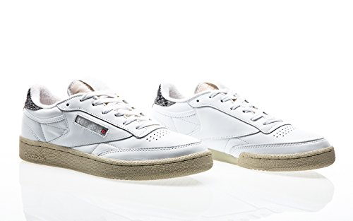 Reebok Club C 85 VS, white-snowy grey-paper white white-snowy grey-paper white