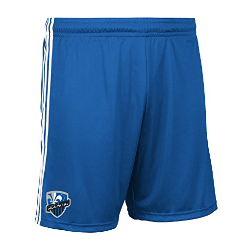fan products of adidas MLS Montreal Impact Men's Replica Shorts, Medium, Royal Blue