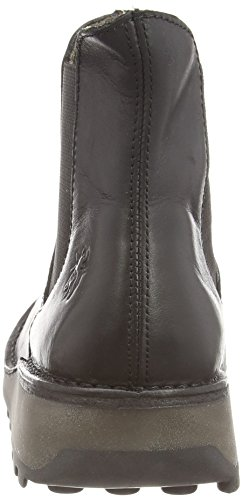 Boots London Womens Muna Leather EU Black Fly 40 qaXwvnvA