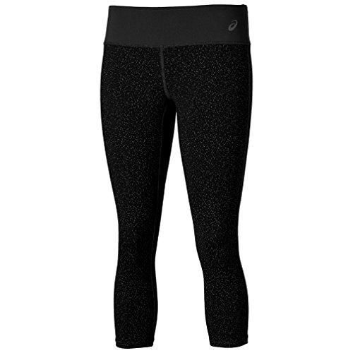 ASICS Graphic Women's Capri Running Tight - SS16 - Small - Black