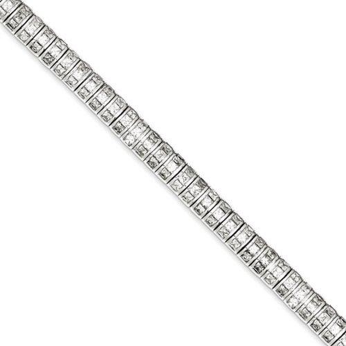 Icecarats Créatrice De Bijoux En Argent Sterling Cz Bracelet En 7 Pouces