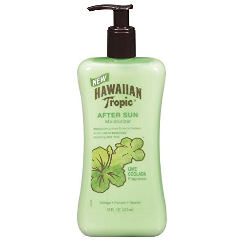 (Hawaiian Tropic Lime Coolada Body Lotion and Daily Moisturizer After Sun, 16 Ounce - Pack of 3 )