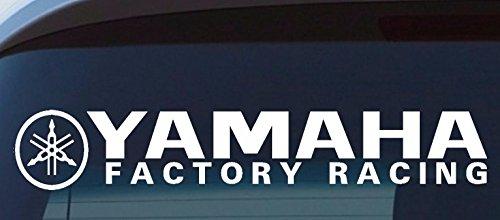 (Yamaha Factory Racing Sticker Motocross Car Racing Window Banner Ute Van)