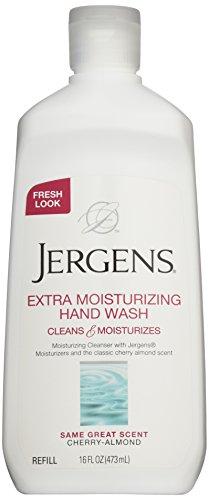 Jergens Extra Moisturizing Liquid Hand Wash, Soap Refill, 16