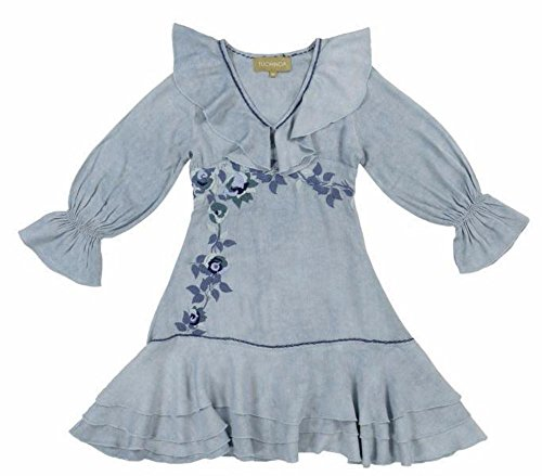Tuchinda Girls Ione Embroidered Dress by Tuchinda