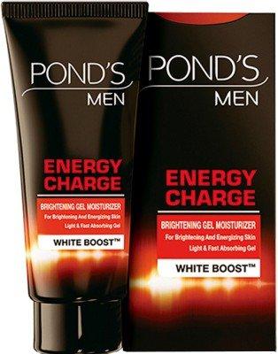 Pond's Men Energy Charge Brightening Gel Moisturizer(40 G)