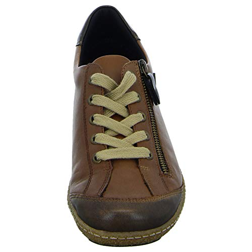Casual Shoes Brown Womens 22 R4703 Lace Remonte Up ZwSxOHWqHa