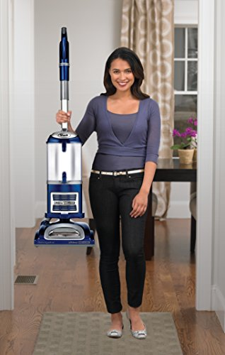Shark Navigator Professional Upright Vacuum for Carpet and Hard Floor with Lift-Away Hand Vacuum and Anti-Allergy Seal (NV360), Blue