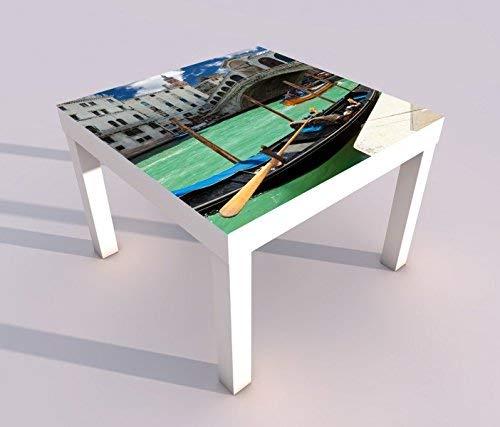 Diseño - Mesa con UV Presión 55x55cm Rialto-Brücke Venecia Italia ...