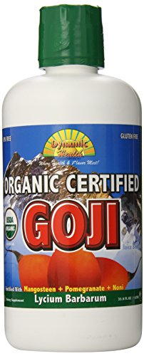 Dynamic Health Organic Certified Goji Juice Blend, 33.80-Ounce